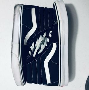 Vans sk8 high top shoes